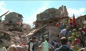 Correspondente fala sobre as áreas afetadas pelo terremoto na Itália