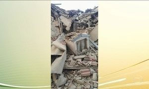 Italianos relatam momentos de horror durante terremoto