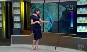 Tem previsão de chuva em grande parte do país