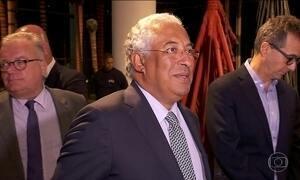 Primeiro-ministro de Portugal inicia visita oficial ao Brasil