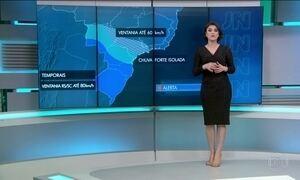 Previsão de chuva forte para o Sudeste e Sul nesta terça (13)