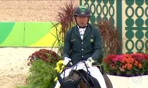 Cavaleiro Sérgio Oliva conquistou o segundo bronze da Paralimpíada