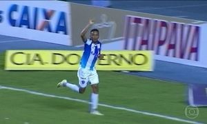 Paysandu derrota o Bragantino pela Série B do Brasileirão