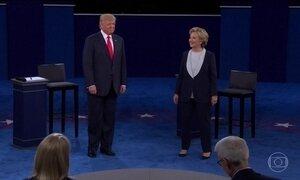 Debate entre candidatos à presidência dos EUA é marcado por insultos