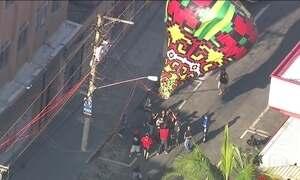 Jornal Hoje alerta para os riscos de soltar balão para aeronaves e incêndios