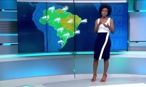 Porto Alegre, Rio de Janeiro e São Paulo podem ter sábado (15) com chuva