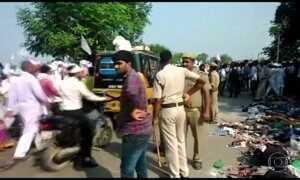 Confusão durante ritual hindu deixa pelo menos 19 mortos na Índia