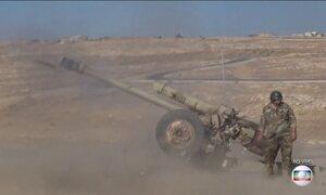 Começa batalha para retomar cidade controlada pelo Estado Islâmico