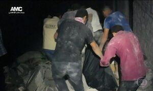 Imagens mostram resgate feito por voluntários em cidade síria