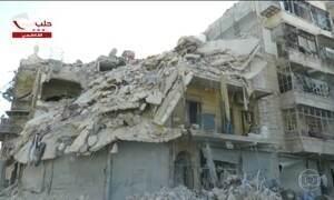 Rússia e Síria anunciam suspensão imediata dos bombardeios aéreos