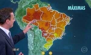 Confira como fica o tempo nesta quarta-feira (19)