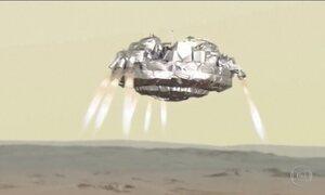Sonda Schiaparelli perde sinal antes de pousar em Marte