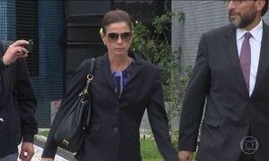 PF permite que Cunha receba visita da mulher Cláudia Cruz