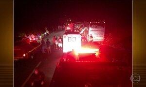 Seis pessoas morrem em acidente na BR-040 em Minas Gerais