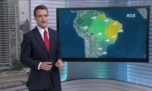 Veja a previsão do tempo para esta terça-feira (25) em todo o Brasil