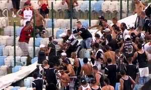 Corintianos que brigaram no Maracanã vão aguardar julgamento presos