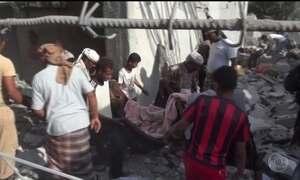 Aviões bombardeiam complexo de segurança no Iêmen