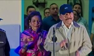Daniel Ortega é eleito para terceiro mandato consecutivo como presidente da Nicarágua