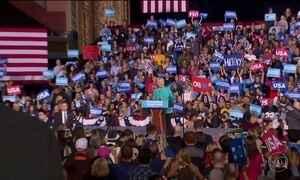 A dois dias da eleição nos EUA, Hillary e Trump tentam conquistar eleitores indecisos