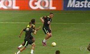Seleção começa preparação para o jogo contra Argentina