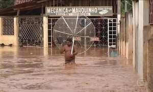 Temporal causa transtornos no leste de Minas Gerais