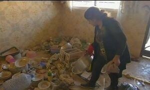 Moradores de cidade iraquiana voltam para casa após saída do Estado Islâmico