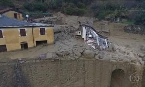 Chuva causa morte e deixa vários desabrigados no norte da Itália