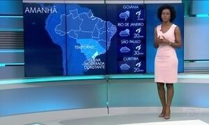 Veja a previsão do tempo para terça-feira (29) no Brasil