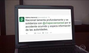 Clubes de todo mundo mandam mensagens de apoio ao Chapecoense pelas redes sociais