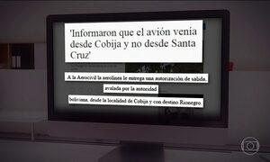 LaMia informou autoridades que avião saiu de Cobija, afirma jornal colombiano