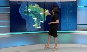 Confira como fica a previsão do tempo para o todo o Brasil