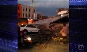 Pelo menos 18 pessoas morrem em forte terremoto na Indonésia