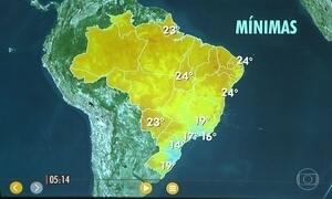 Confira como fica o tempo nesta quarta-feira (7)