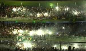Estádio onde aconteceria final da Sul-Americana recebe homenagem