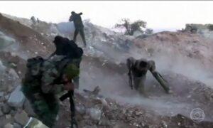 Forças rebeldes no leste de Aleppo são derrotadas por tropas do governo sírio