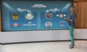 Conheça os adversários dos times brasileiros na Libertadores 2017