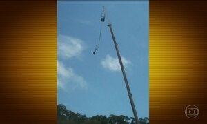 Falha em bungee jump causou morte no interior de SP, conclui polícia