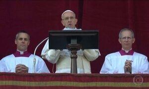 Em mensagem de Natal, Papa fala sobre conflitos na Síria