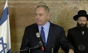 Primeiro-ministro de Israel convoca embaixador americano contra abstenção na ONU
