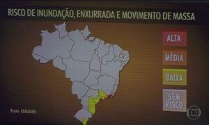 Previsão é de novos temporais no Sul do Brasil