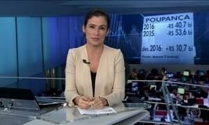 Em 2016, saques da poupança superaram depósitos em R$ 41 bilhões
