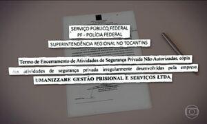 PF quer que Tocantins cancele contrato com a Umanizzare