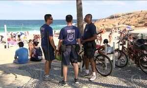 Furtos e arrastões assustam cariocas e turistas, e policiamento é reforçado