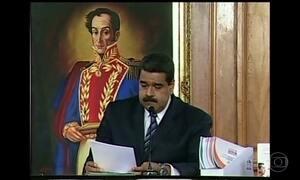 Parlamento da Venezuela declara abandono de cargo do presidente