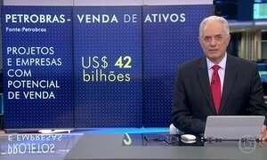 Petrobras calcula que ativos de 42 bi de dólares devem ser vendidos
