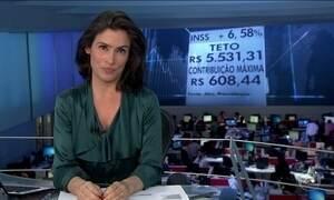 Reajuste de benefícios do INSS acima do mínimo será de 6,58%
