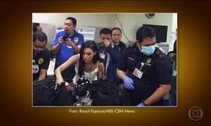 Itamaraty acompanha caso de brasileira presa por tráfico nas Filipinas