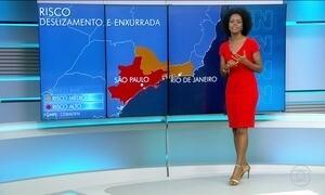 Confira a previsão do tempo pare a quinta-feira (19) em todo o país