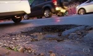 Tribunal de Contas questiona qualidade do tapa-buraco do asfalto de SP