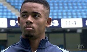 Gabriel Jesus é apresentado no Manchester City